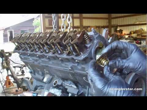 How To Rebuild a Jeep Engine part 1