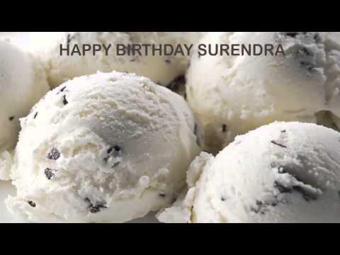 Surendra   Ice Cream & Helados y Nieves - Happy Birthday