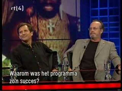 Part 1 - Dirk Benedict & Dwight Schultz - 23 September 2005