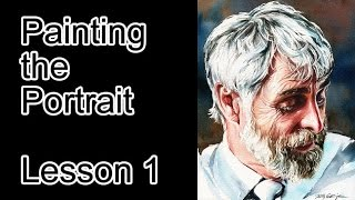 Painting the Portrait - Lesson 1
