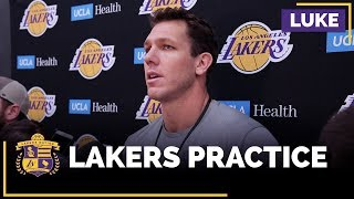 Luke Walton Is 'Not At All' Concerned About Lonzo Ball's Shooting Form