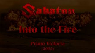 Sabaton - Into the Fire (Lyrics English & Deutsch)