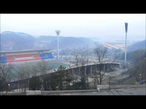 The Ryanggang hotel features a view on the Mangyongdae Sports Village, in the outskirts of Pyongyang. http://humanitybesideus.net/2012/12/01/a-review-of-the-...