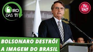 Giro das 11h (23.4.19): Bolsonaro destrói a imagem do Brasil