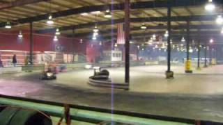 Columbus Kart Racing including twin engine kart