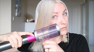 Dyson Airwrap Review - Smoothing Tool