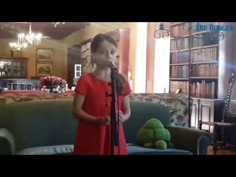 Amira Willighagen - Singing for South African Newspaper - 2014
