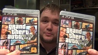 Обман с GTA 5 для PS3
