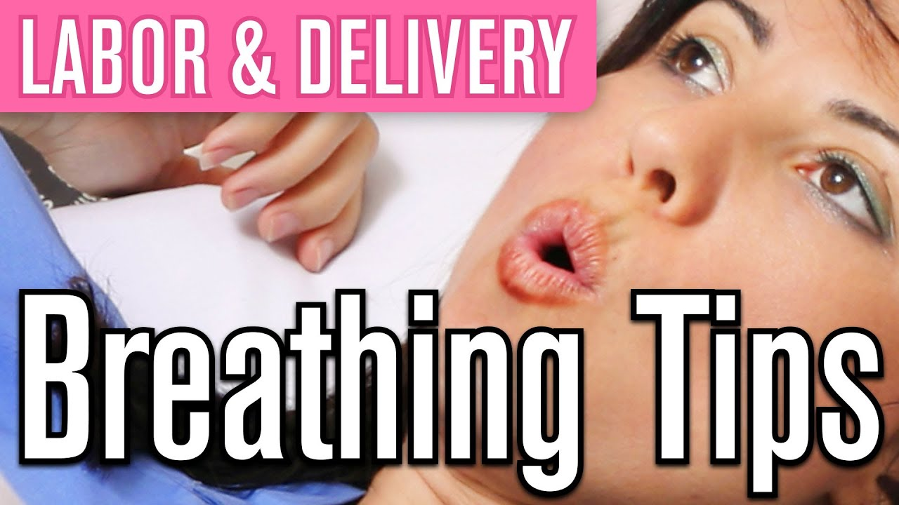 Breathing techniques for labour video