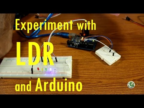 Arduino Tutorial #7 In Urdu, Experiment With LDR And Arduino