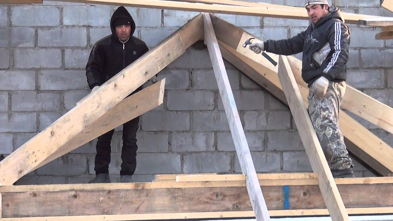 Крыша своими руками пристройка фото