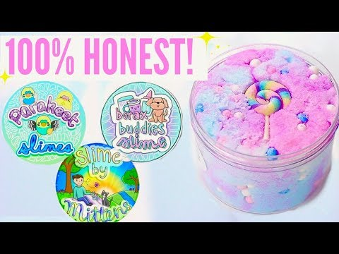 100% HONEST Famous+ Underrated Instagram Slime Shop Review ParakeetSlimes US/UK Package Unboxing