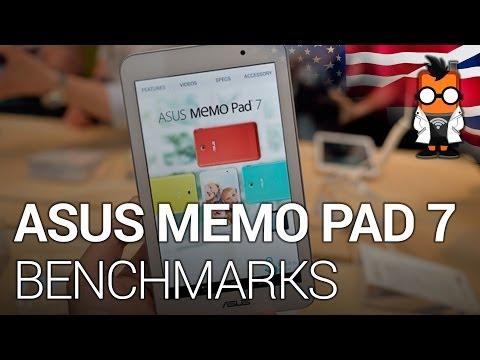 ASUS MeMO Pad 7 Benchmarks - Intel Atom Z3745