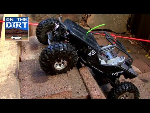 RC Extreme 4x4 Competition Truck - Axial Wraith - Full on 4WD Track