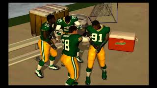 ESPN NFL 2K5 2018 Roster | Week 8 vs Vikings