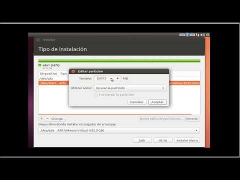 Instalar ubuntu 13.04 junto a windows y como particionar