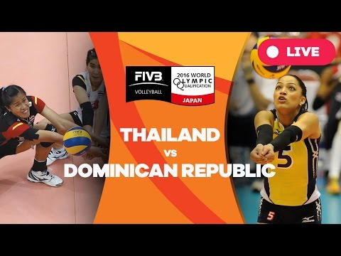 Thailand v Dominican Republic - 2016 Women's World Olympic Qualification Tournament