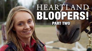 Heartland Season 11 Bloopers: Part One