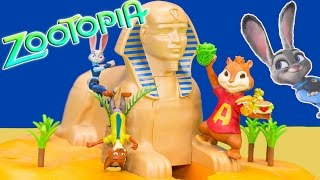 Zootopia Goes on Operation Happy Birthday with Officer Hopps Toys