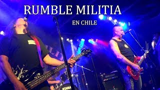 RUMBLE MILITIA - Chile Under Pinochet (live)