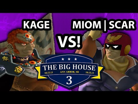 The Big House 3 - Kage The Warrior (Ganondorf) Vs . MIOM | Scar (Captain Falcon) SSBM Pools - Melee