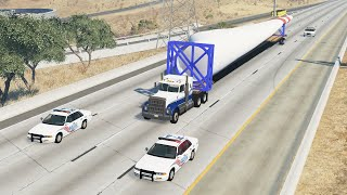 Heavy & Oversize Load Crashes | BeamNG.drive