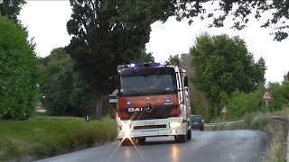 (Mini-Compilation) Italian Fire Brigade Responding Best of 2015