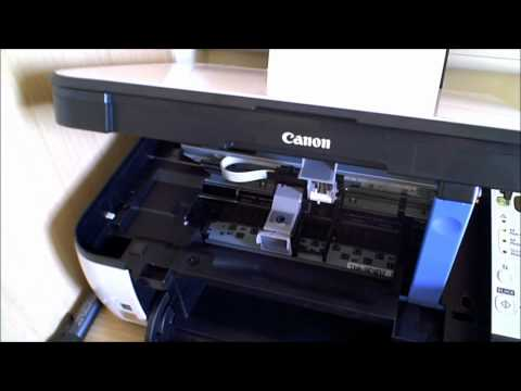 Canon MP270 Printer Cartridge Change