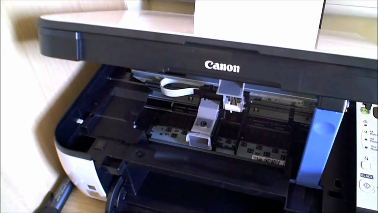 How To Change Ink Cartridge Canon Pixma Mp258