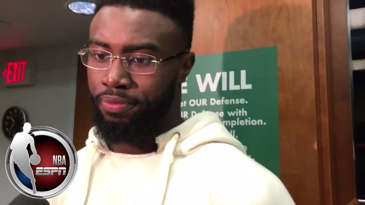 Jaylen Brown on Anthony Davis: He's one of the best players in the league | ESPN