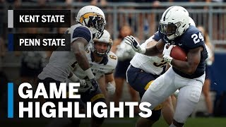 Highlights: Kent State at Penn State | Big Ten Football