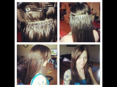 How To Install Micro LinkI Tip Hair Extensions 25
