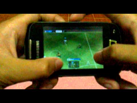Review game PES 2011 for samsung galaxy mini