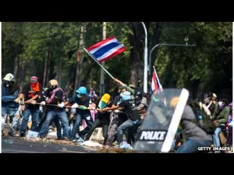 Gunmen Open Fire in Thailand Protest   Updated 28 Dec MUST SEE