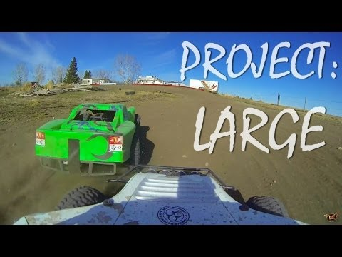 "RC ADVENTURES - Project: ""LARGE"" - LOSi 5ive T 4x4 Truck Race - Wanna go for a Ride?!"