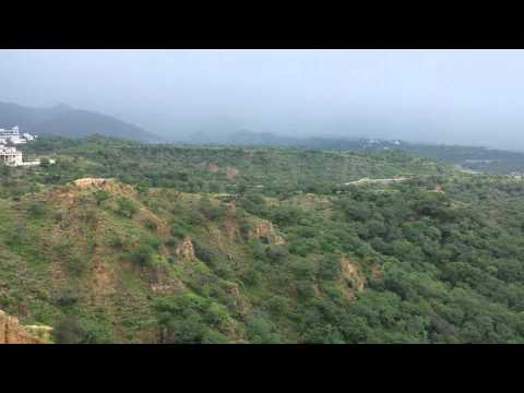 Rainy weather In Azad Kashmir Mirpur Pakistan part 3 Full HD