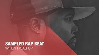"""When I Was Up"" [With Hook] Old School Hip Hop Beat - Tellingbeatzz"