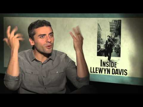 Llewyn Davis Speaks!  Oscar Isaac Talks About