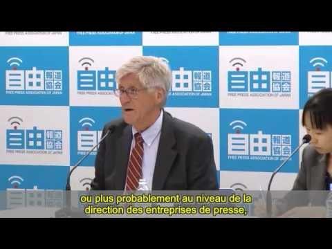 A. Gundersen, conférence de  presse au Japon 05.09.2012