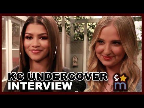 KC UNDERCOVER Set Interviews w/ Zendaya, Veronica Dunne, Kadeem Hardison