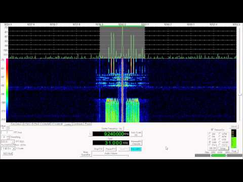 Shortwave Radio - HM01 Cuban Numbers Station 9240Khz