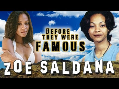 ZOE SALDANA - Before They Were Famous