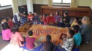 Children's Music Class at Mission Himalaya 2018