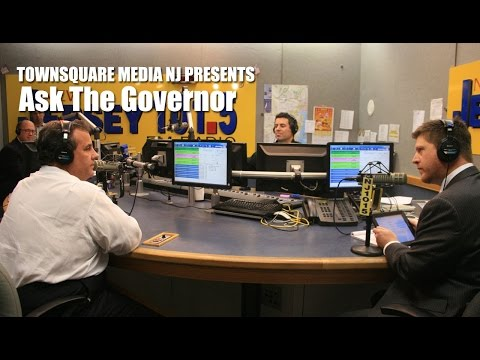 Ask the Governor with Gov. Chris Christie - May 25, 2016