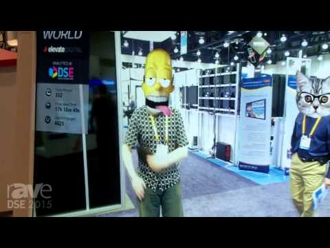 DSE 2015: Elevate Digital Demos Awesome Emoji World Application Using Gesture and Facial Recognition