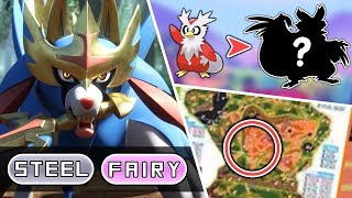 Legendary Typings & NEW Evolutions LEAKED?! + New Info! ~ Pokémon Sword & Shield