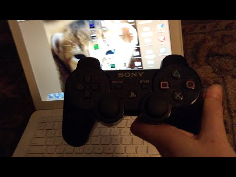 How to connect your PS3 controller to your Mac Using Bluetooth!