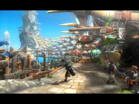 Monster Hunter 3 (Tri) G - Moga Village and Port Tanzia