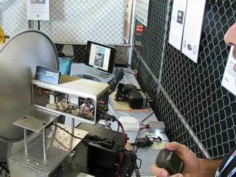 Bay Area Maker Faire 2012: Two-Way 79 GHz Amateur Radio Demonstration