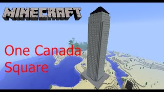 Minecraft - One Canada Square [London] [HD+]
